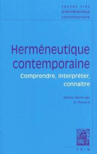 Herméneutique contemporaine