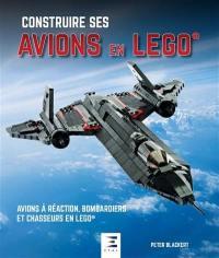 Construire ses avions en Lego