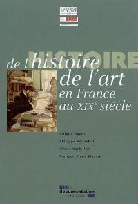 Histoire de l'histoire de l'art en France au XIXe siècle