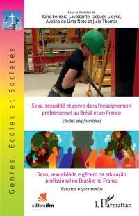Sexe, sexualité et genre dans l'enseignement professionnel au Brésil et en France