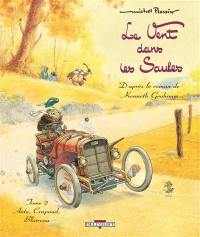 Le vent dans les saules. Volume 2, Auto, Crapaud, Blaireau