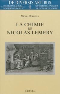 La chimie de Nicolas Lemery