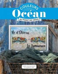 Couleurs océan au point de croix