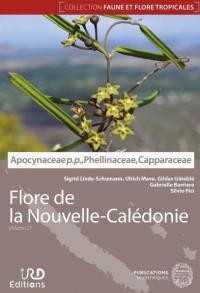 Flore de la Nouvelle-Calédonie. Volume 27,