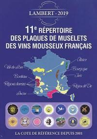 11e répertoire des plaques de muselets des vins mousseux français