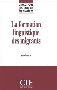 La formation linguistique des migrants