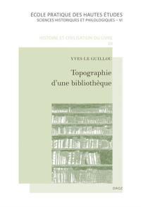 Topographie d'une bibliothèque