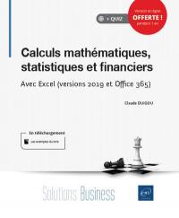 Calculs mathématiques, statistiques et financiers