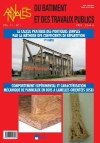 Annales du bâtiment et des travaux publics. n° 1 (2019),
