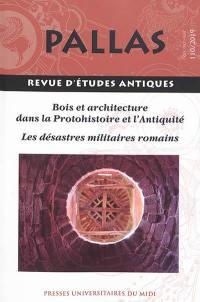 Pallas. n° 110, Les désastres militaires romains