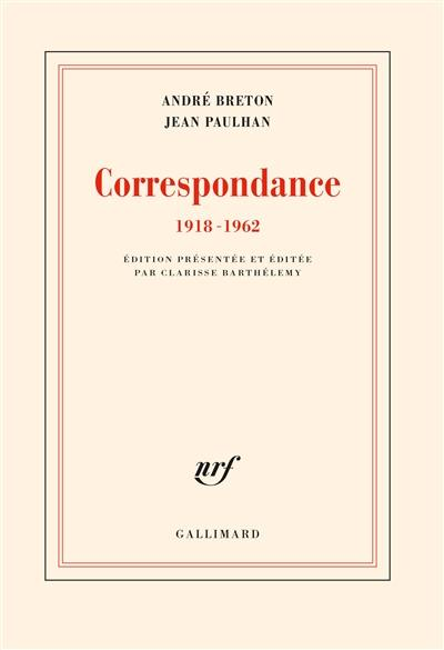 Correspondance 1918-1962