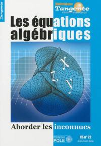 Les équations algébriques