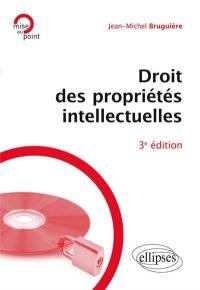 Droit des propriétés intellectuelles