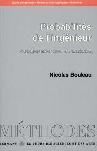 Probabilités de l'ingénieur. Volume 1, Probabilités de l'ingénieur