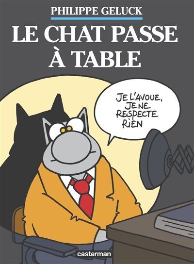 Le Chat, Le Chat passe à table, Vol. 19