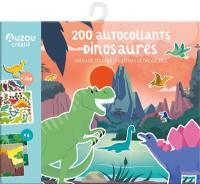 Dinosaures : 200 autocollants. Dinosaur stickers. Pegatinas de dinosaurus
