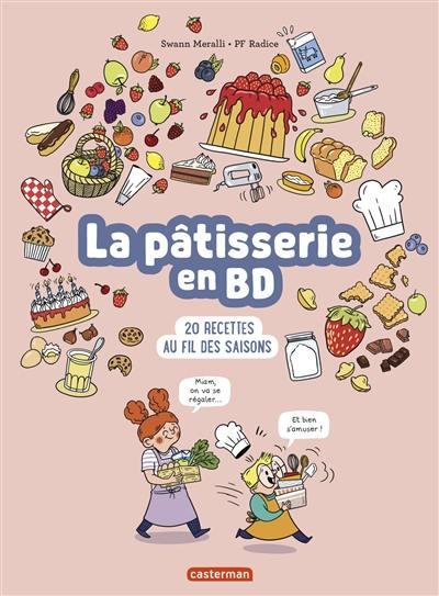 La pâtisserie en BD