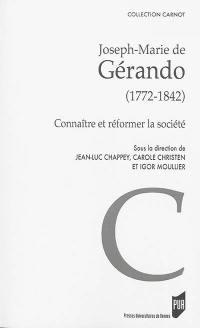 Joseph-Marie de Gérando (1772-1842)
