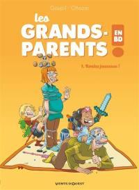 Les grands-parents en BD. Volume 1, Roulez jeunesse !
