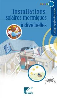 Installations solaires thermiques individuelles