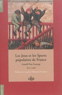 Les jeux et les sports populaires de France
