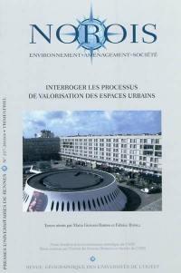 Norois. n° 217, Interroger les processus de valorisation des espaces urbains