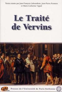 Le traité de Vervins