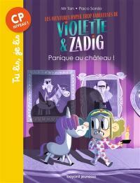 Les aventures hyper trop fabuleuses de Violette & Zadig, Panique au château !