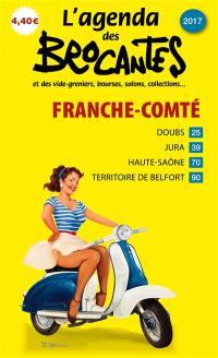 L'agenda des brocantes Franche-Comté. n° 2017,