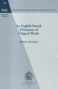 An English-French dictionary of clipped words