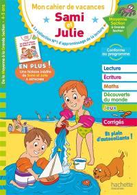 Mon cahier de vacances Sami et Julie