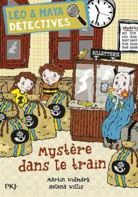 Léo & Maya. Volume 11, Mystère dans le train