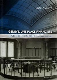 Genève, une place financière