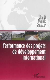 Performance des projets de développement international