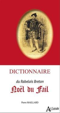Dictionnaire Noël du Fail