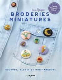 Broderies miniatures