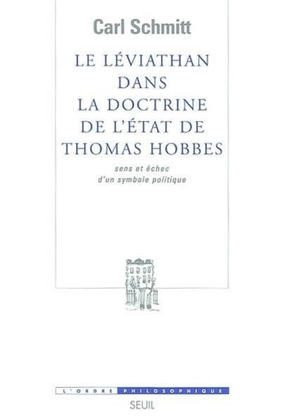 Le Léviathan dans la doctrine de l'Etat de Thomas Hobbes