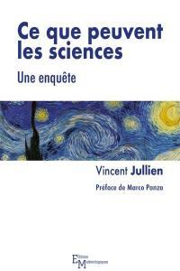 Ce que peuvent les sciences