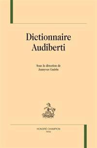 Dictionnaire Audiberti