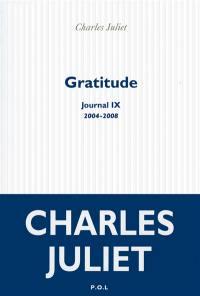 Journal. Volume 9, Gratitude