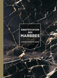 Identification des marbres