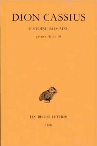 Histoire romaine. Volume 48-49, Livres 48 et 49