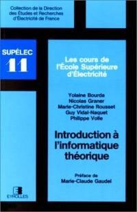 Introduction à l'informatique théorique