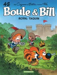 Boule et Bill. Vol. 42. Royal taquin