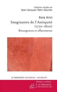Imaginaire de l'Antiquité (1770-1800)