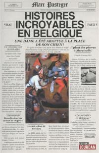 Histoires incroyables en Belgique