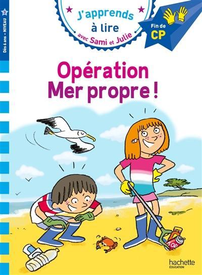 Opération mer propre !