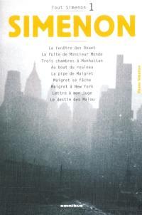 Tout Simenon. Volume 1,