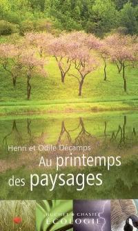 Au printemps des paysages