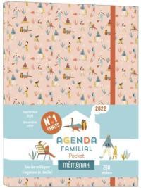 Agenda familial pocket 2022